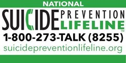Suicide Prenvention lifeline 1-800-372-8255
