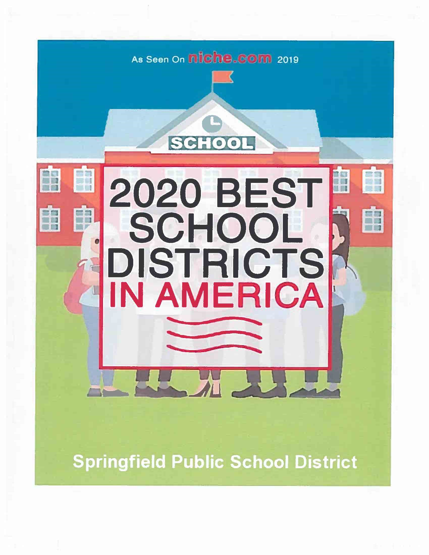 image of 2020 best school district in america: springfield public schools