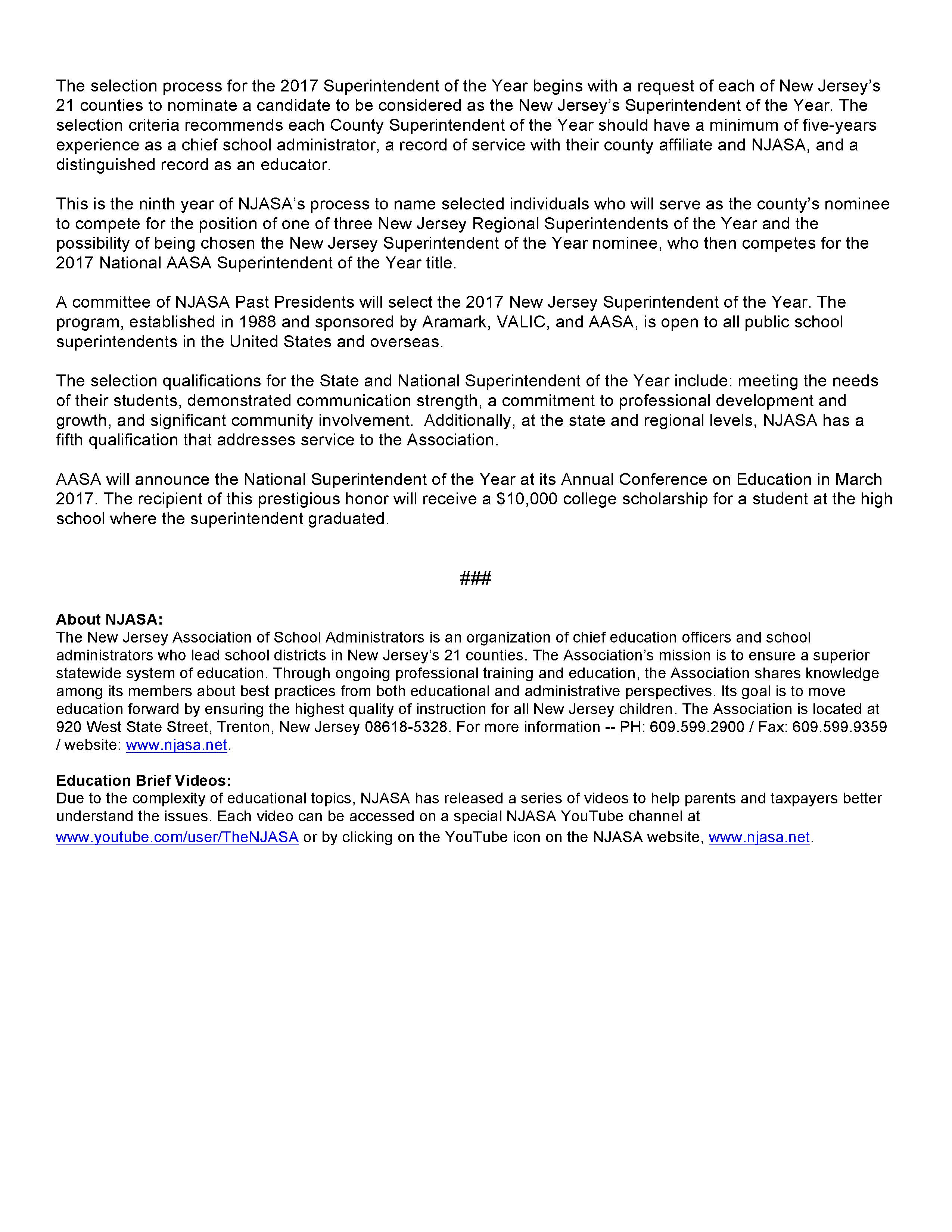 NJASA Press Release Page 2