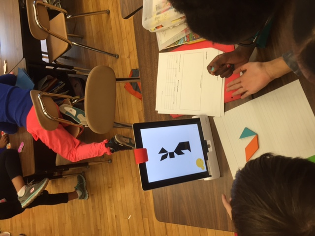 Students with Osmo