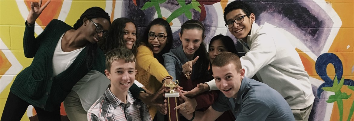 JDHS Quizbowl Winners 2016